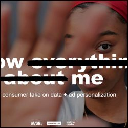 Consumer take on data and ad personalization