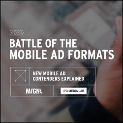 Battle of the Mobile Ad Formats